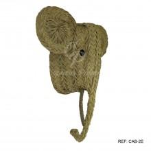 Cabeza grande Elefante esparto