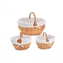 Set 3 cestas Vernier